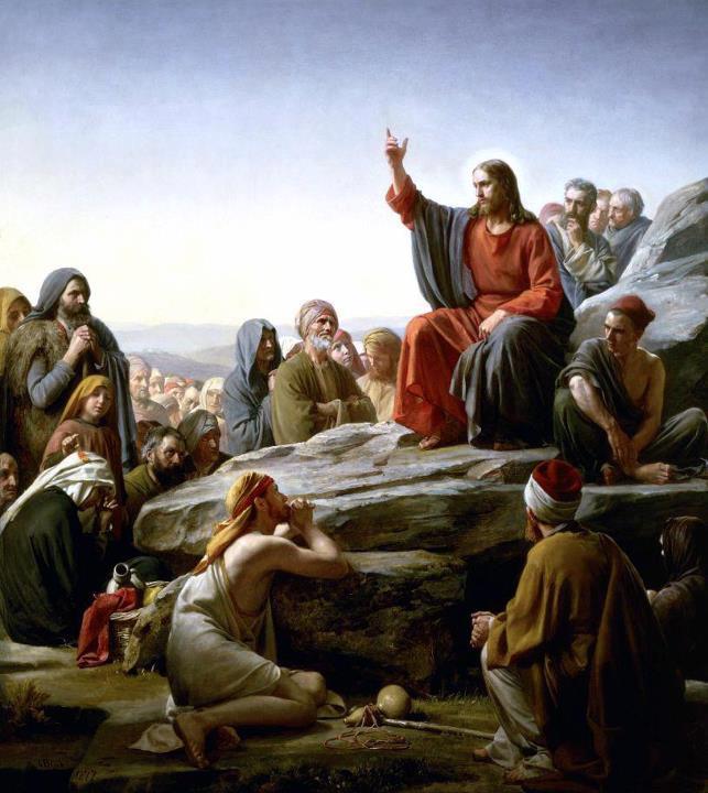 Jésus et les apotres