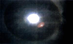Photo manifestation divine dans le ciel de Fatima